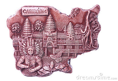 Cambodian Art Isolated