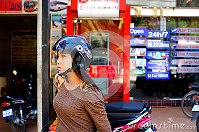 Cambodian girl. Editorial Stock Image