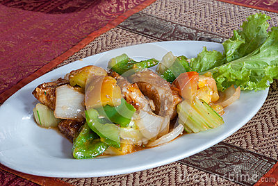 how to cook amok khmer food