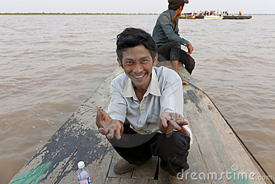 Cambodian man Editorial Image