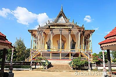 Cambodian palace