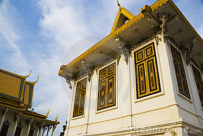 Cambodian Royal Palace Buildings
