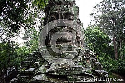 Cambodian temple