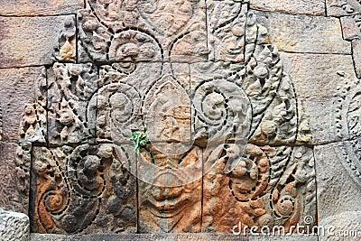 Cambodian temple, Korat, Thailand.