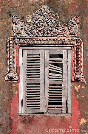 Cambodian window