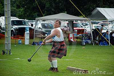 Cambridge Highland Games 2009 Editorial Image