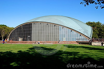 Cambridge, MA: Kresge Auditorium at M.I.T. Editorial Stock Photo