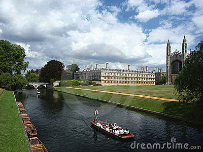 Cambridge University, England Editorial Image