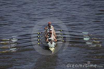 Cambridge university rowing club at Primatorky Editorial Stock Photo