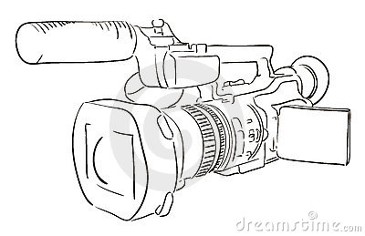 Camcorder Royalty Free Stock Photos - Image: 19295268