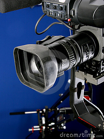 Free Camcorder On Crane Royalty Free Stock Photography - 5359427