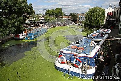 Camden Lock, London Editorial Photography