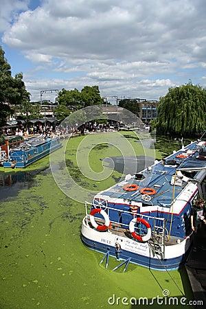 Camden Lock, London Editorial Stock Image