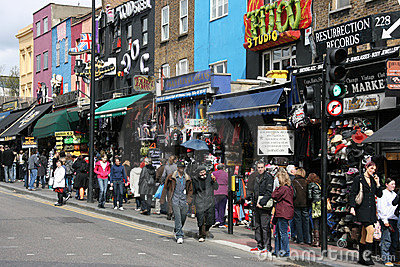 Camden Town Editorial Photo
