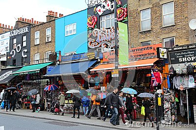 Camden Town, London Editorial Image