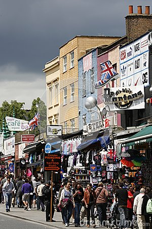 Camden Town, Market, London Editorial Image