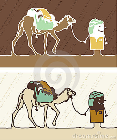 Camel colored cartoon