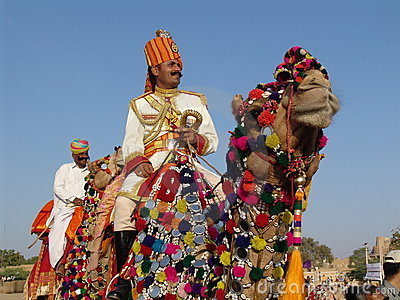 Camel fair, Jaisalmer, India Editorial Stock Photo