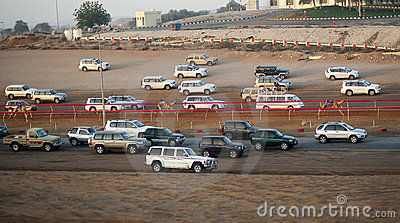Camel Racing Editorial Image