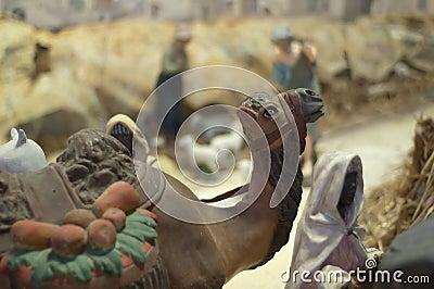 Camel toy figure