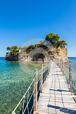 Free Cameo Island In Zakynthos Zante Island, In Greece Royalty Free Stock Images - 99116449