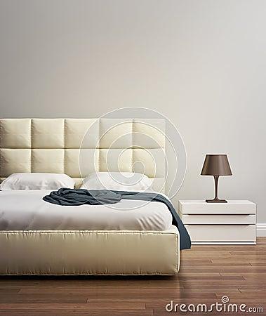 Camera da letto beige di lusso moderna immagine stock   immagine ...