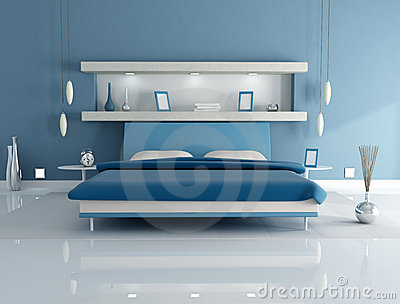 Beautiful Camera Da Letto Pareti Blu Ideas - House Design Ideas 2018 ...