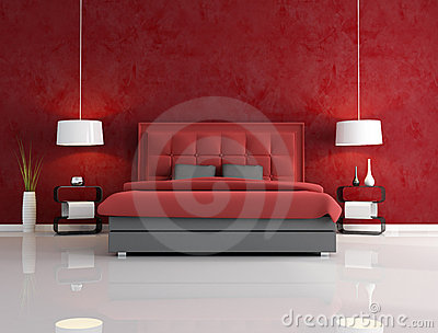 Stunning Parete Rossa Camera Da Letto Ideas - Design Trends 2017 ...