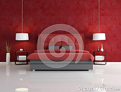 Stunning Parete Rossa Camera Da Letto Images - House Design Ideas ...