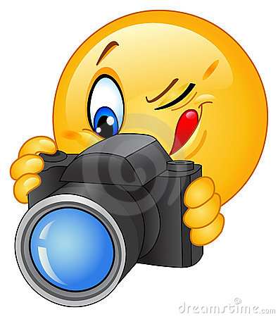 Free Camera Emoticon Royalty Free Stock Photo - 19731655