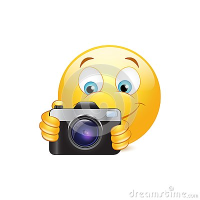 Free Camera Emoticon Royalty Free Stock Image - 40231586