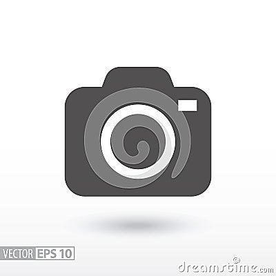 Free Camera - Flat Icon Stock Image - 83381271