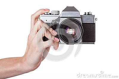 Camera holding