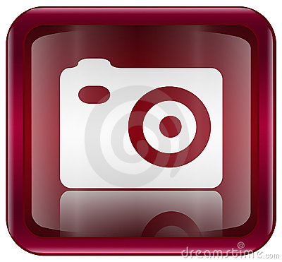 camera icon images. CAMERA ICON RED (click image