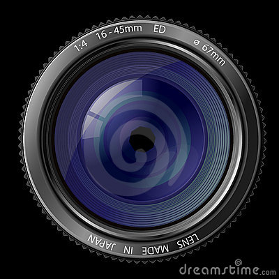 Free Camera Lens Royalty Free Stock Photos - 14026648