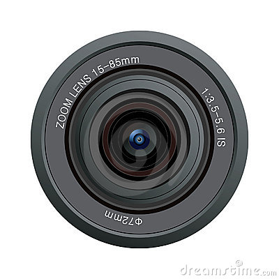 camera lens vector stock image image: 18265671