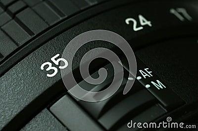 Camera lense.