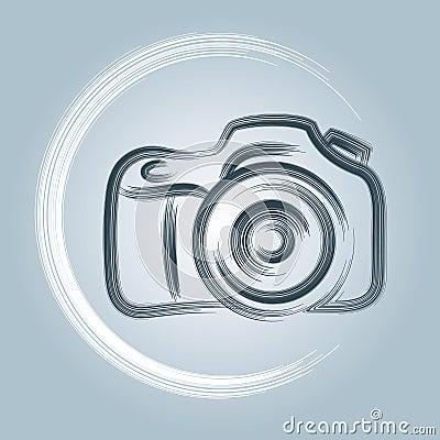 Free Camera Logo Royalty Free Stock Image - 42039836
