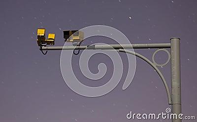 Camera at night