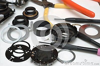 Camera repair view