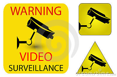 Camera security icons