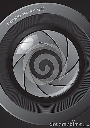Camera shutter apertures