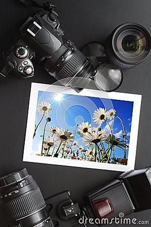 Free Camera Still Life Stock Images - 13886284