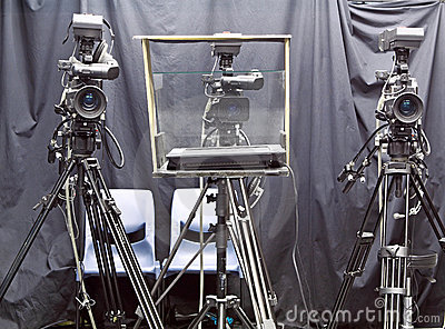 Camera In Studio Stock Photos - Image: 21053343