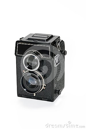 Camera with two lenses