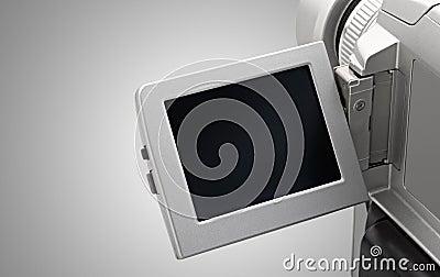 Camera video screen
