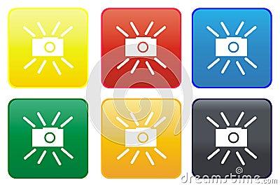 Camera web button
