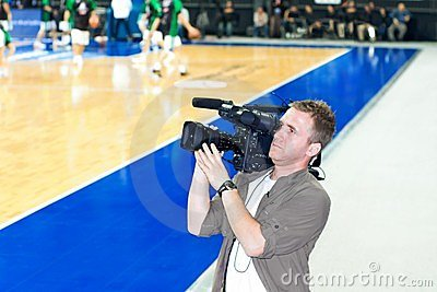 Cameraman Editorial Stock Photo