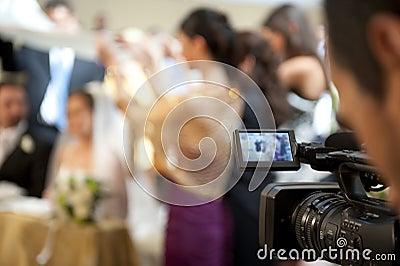 Cameraman en huwelijk