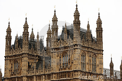 Camere del Parlamento, palazzo di Westminster, Londra
